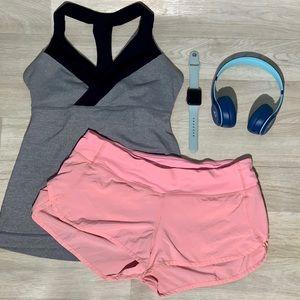 Lululemon Speed Shorts 🍋 bubblegum pink!